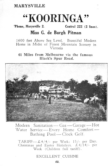 Local Leaflet approx 1929
